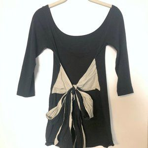 Brandy Melville Top with Contrast Bow